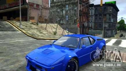 BMW M1 Replica für GTA 4