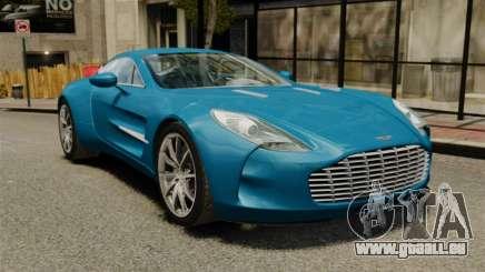 Aston Martin One-77 pour GTA 4