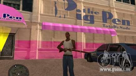 Mousquet pour GTA San Andreas