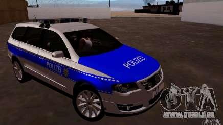 Volkswagen Passat B6 Variant Polizei pour GTA San Andreas