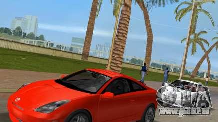 Toyota Celica 2JZ GTE schwarz Revel für GTA Vice City