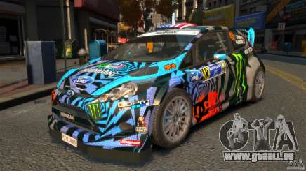 Ford Fiesta Rallycross Ken Block (Hoonigan) 2013 pour GTA 4