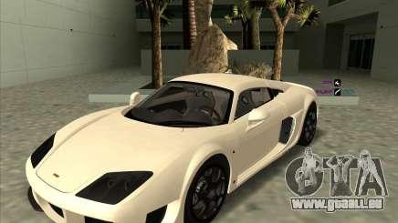Noble M600 für GTA San Andreas