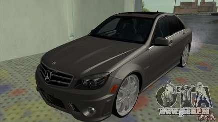 Mercedes-Benz C63 Dub pour GTA San Andreas
