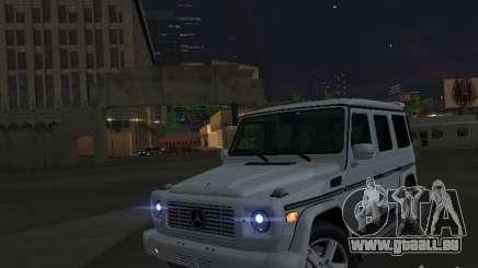 Mercedes-Benz Galendewagen G500 pour GTA San Andreas