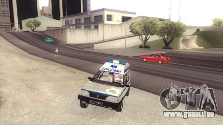FSO Polonez Cargo MR94 Ambulance pour GTA San Andreas