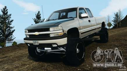 Chevrolet Silverado 2500 Lifted Edition 2000 pour GTA 4