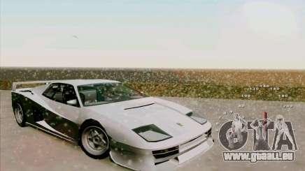 Ferrari Testarossa Custom für GTA San Andreas