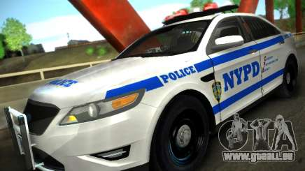 Ford Taurus NYPD 2011 pour GTA San Andreas