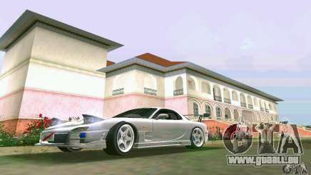 Mazda RX7 tuning pour GTA Vice City