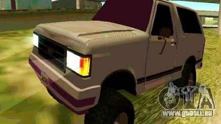 Ford Bronco 1990 pour GTA San Andreas