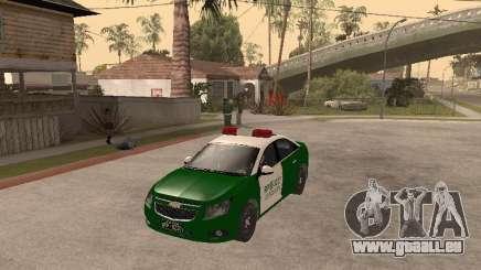 Chevrolet Cruze Carabineros Police pour GTA San Andreas