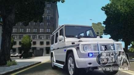 Mercedes-Benz G500 Beredskapstroppen für GTA 4