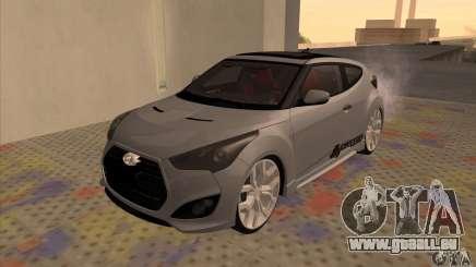 Hyundai Veloster Castor pour GTA San Andreas