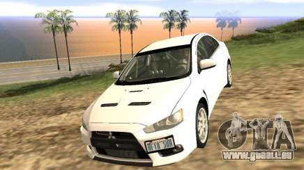 Mitsubishi Lancer Evo X für GTA San Andreas