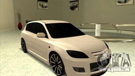 Mazda Speed 3 Stance v.2 pour GTA San Andreas