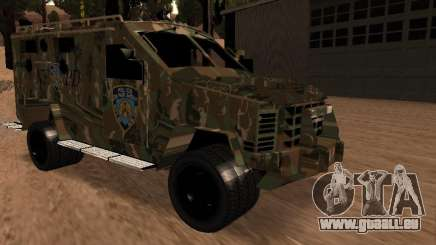 Lenco Bearcat NYPD pour GTA San Andreas