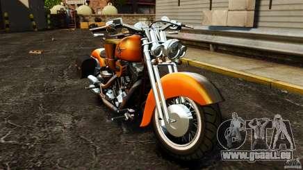 Harley Davidson Fat Boy Lo Vintage für GTA 4