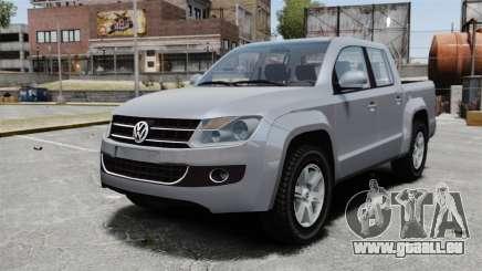 Volkswagen Amarok TDI pour GTA 4