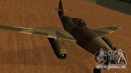 Messerschmitt Me262 pour GTA San Andreas
