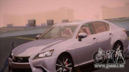 Lexus GS 350 F Sport Series IV für GTA San Andreas