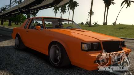 Buick Regal Grand National 1987 für GTA 4