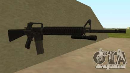 M4A1 from Left 4 Dead 2 für GTA San Andreas