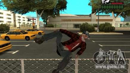 La peau de la veste de fesses pour GTA San Andreas