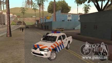 Mitsubishi L200 Police pour GTA San Andreas