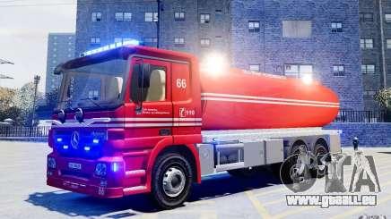 Mercedes-Benz Vanntankbil / Water Tanker pour GTA 4