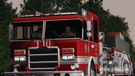 Pierce Arrow XT LAFD Tiller Ladder Truck 10 für GTA San Andreas