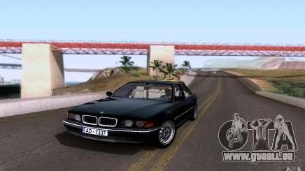 BMW 730i E38 pour GTA San Andreas