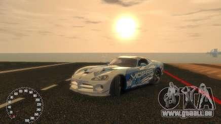 Dodge Viper SRT-10 Mopar Drift pour GTA 4