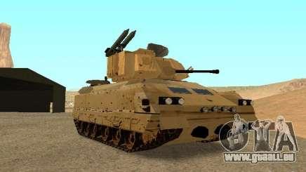 M2A3 Bradley für GTA San Andreas