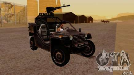 VDV-Buggy von Battlefield 3 für GTA San Andreas