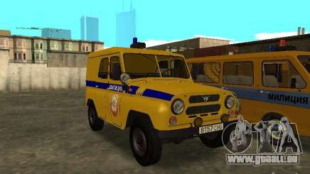 UAZ 3151 Police pour GTA San Andreas