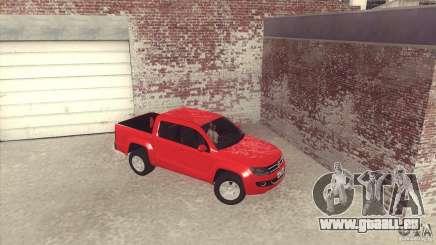 Volkswagen Amarok TDI Trendline 2013 für GTA San Andreas