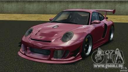 Porsche 997 GT2 Body Kit 2 pour GTA 4