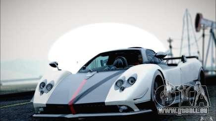 Pagani Zonda Cinque Roadster 2009 für GTA San Andreas