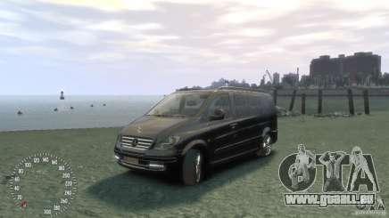 Mercedes-Benz Vito 2013 pour GTA 4