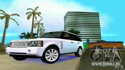 Land Rover Range Rover Supercharged 2008 pour GTA Vice City