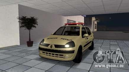 Renault Clio Symbol Police pour GTA San Andreas