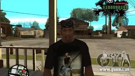 Rammstein t-shirt v1 pour GTA San Andreas