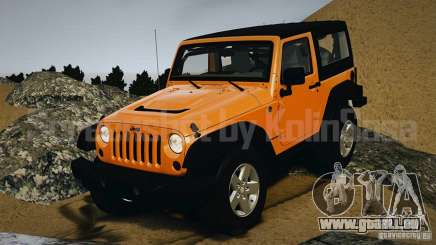 Jeep Wrangler Rubicon 2012 pour GTA 4