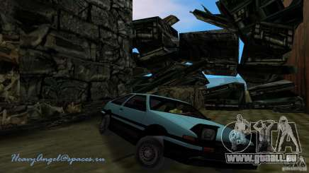 Toyota Trueno Sprinter pour GTA Vice City