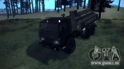 KAMAZ 4310 Bowser für GTA San Andreas