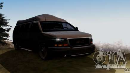 GMC Savana AWD pour GTA San Andreas