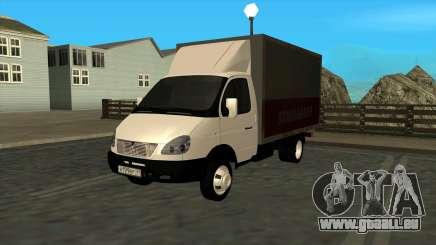 GAZ 3302 Gazelle pour GTA San Andreas