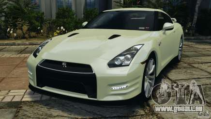 Nissan GT-R 2012 Black Edition für GTA 4
