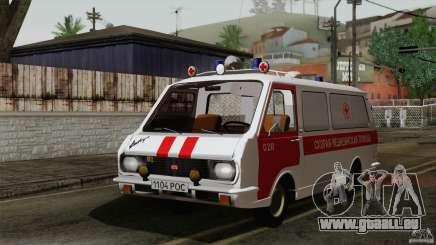 RAF 22031 Latvija Krankenwagen für GTA San Andreas